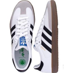 アディダス Adidas メンズ スニーカー シューズ・靴 - Samba Vegan FTW White/Core Black/Gum - Shoes white|fermart-hobby