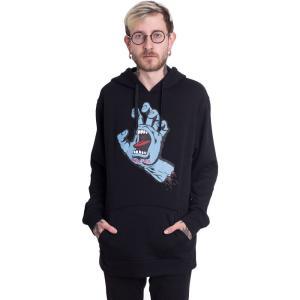 サンタクルーズ Santa Cruz メンズ パーカー トップス - Screaming Hand - Hoodie black|fermart-hobby
