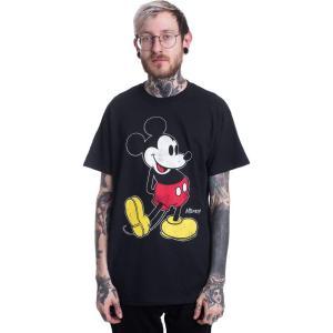 インペリコン Impericon メンズ Tシャツ トップス Disney - Mickey Kick - T-Shirt black|fermart-hobby