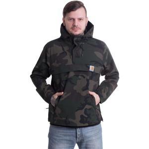 カーハート Carhartt WIP メンズ コート アウター Nimbus Coated Camo Combat Green Jacket camouflage|fermart-hobby