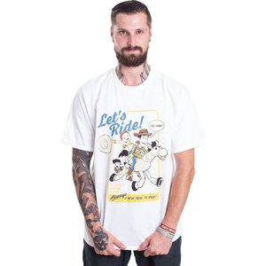 インペリコン Impericon メンズ Tシャツ トップス - Let's Ride White - T-Shirt white|fermart-hobby