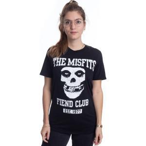 インペリコン Impericon レディース Tシャツ トップス - Fiend Club - T-Shirt black|fermart-hobby