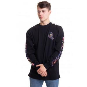 サンタクルーズ Santa Cruz メンズ 長袖Tシャツ トップス - Hand Splatter Black - Longsleeve black|fermart-hobby