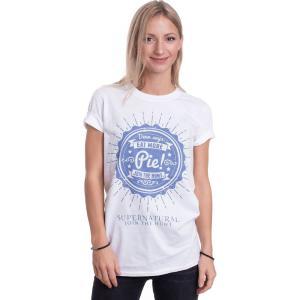 インペリコン Impericon レディース Tシャツ トップス - Eat More Pie! White - T-Shirt white|fermart-hobby