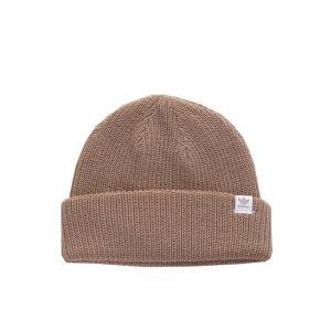 アディダス Adidas ユニセックス ニット ビーニー 帽子 - Shorty Beanie Trace Khaki F17/White - Beanie brown|fermart-hobby