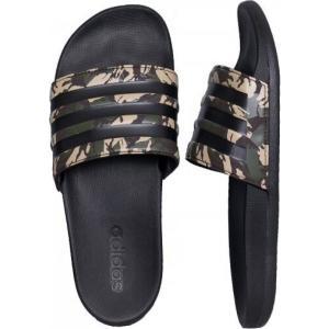 アディダス Adidas メンズ サンダル シューズ・靴 - Adilette Comfort Wild Pine/Core Black/Dark Brown - Sandals black|fermart-hobby