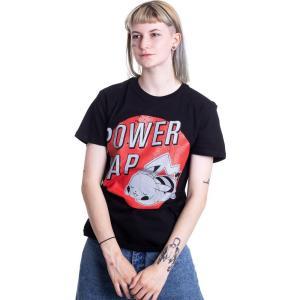 インペリコン Impericon レディース Tシャツ トップス - Pikachu Power Nap - T-Shirt black|fermart-hobby