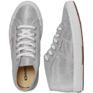 スペルガ Superga レディース スニーカー シューズ・靴 2754 Lamew Silver Girl Shoes grey|fermart-hobby