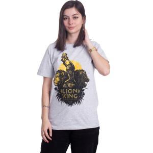 インペリコン Impericon レディース Tシャツ トップス - Circle Of Life Heather Grey - T-Shirt grey|fermart-hobby