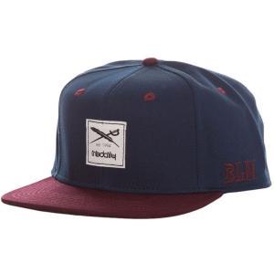 アーライダイリー Iriedaily メンズ キャップ 帽子 Daily Contra Navy/Red Cap blue|fermart-hobby