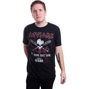 インペリコン Impericon メンズ Tシャツ トップス - Saviors Tour - T-Shirt black|fermart-hobby