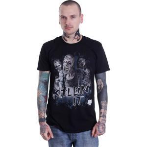 インペリコン Impericon メンズ Tシャツ トップス - Killin It - T-Shirt black|fermart-hobby