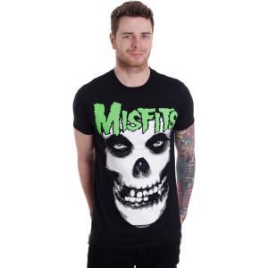 インペリコン Impericon メンズ Tシャツ トップス - Glow Jurek Skull - T-Shirt black|fermart-hobby