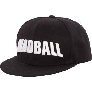 マッドボール Madball ユニセックス キャップ 帽子 Logo Cap black|fermart-hobby