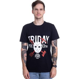 インペリコン Impericon メンズ Tシャツ トップス - The Day Everyone Fears - T-Shirt black|fermart-hobby