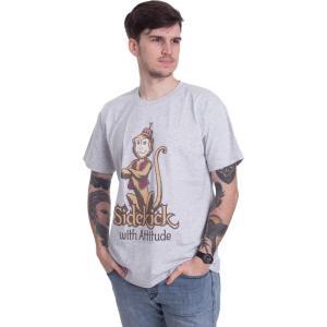 インペリコン Impericon メンズ Tシャツ トップス - Sidekick With Attitude Heather Grey - T-Shirt grey|fermart-hobby