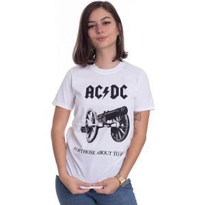 インペリコン Impericon レディース Tシャツ トップス - For Those About To Rock White - T-Shirt white|fermart-hobby