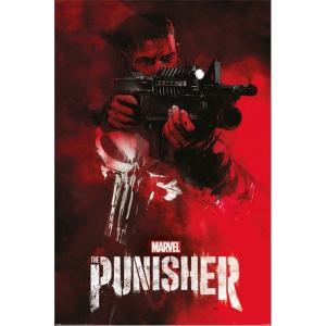 パニッシャー The Punisher グッズ ポスター - Aim - Poster red|fermart-hobby