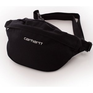 カーハート Carhartt WIP ユニセックス ボディバッグ・ウエストポーチ バッグ Payton Black/White Hip Bag black|fermart-hobby