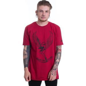 インペリコン Impericon メンズ Tシャツ トップス - 2 Remake Made In Heaven Red - T-Shirt red|fermart-hobby