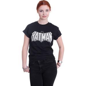 インペリコン Impericon レディース Tシャツ トップス - Retro Crackle Logo - T-Shirt black fermart-hobby