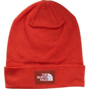 ザ ノースフェイス The North Face ユニセックス ニット ビーニー 帽子 - Dock Worker Recycled Papaya Orange/Picante Red - Beanie orange|fermart-hobby