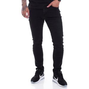 アイアン ネイル Ironnail メンズ ジーンズ・デニム ボトムス・パンツ Fowler Slim Jeans black|fermart-hobby