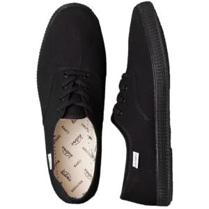 ヴィクトリア Victoria レディース スニーカー シューズ・靴 Inglesa Lona Piso Girl Shoes black|fermart-hobby