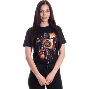 インペリコン Impericon レディース Tシャツ トップス - Endgame Thanos & Avengers - T-Shirt black fermart-hobby