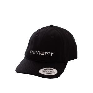 カーハート Carhartt WIP ユニセックス キャップ 帽子 - Carter Black/White - Cap black|fermart-hobby