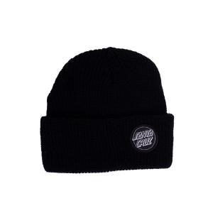 サンタクルーズ Santa Cruz ユニセックス ニット ビーニー 帽子 - Outline Dot Black - Beanie black fermart-hobby