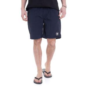 ディーシー DC メンズ 海パン 水着・ビーチウェア Lite Way 18 Dark Indigo Board Shorts blue|fermart-hobby
