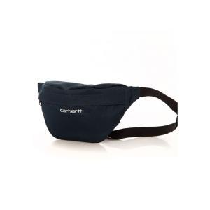 カーハート Carhartt WIP ユニセックス ボディバッグ・ウエストポーチ バッグ - Payton Duck Blue/White - Hip Bag blue|fermart-hobby