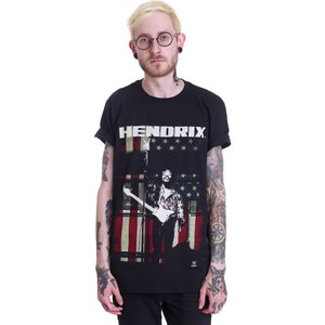 インペリコン Impericon メンズ Tシャツ トップス - Peace Flag - T-Shirt black fermart-hobby