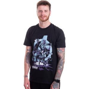 インペリコン Impericon メンズ Tシャツ トップス - Thanos Grip Endgame - T-Shirt black fermart-hobby