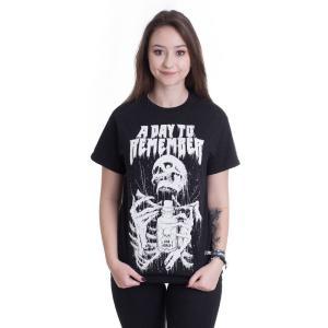 ア デイ トゥ リメンバー A Day To Remember レディース Tシャツ トップス Skeleton T-Shirt black|fermart-hobby