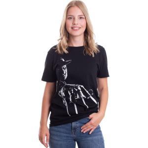 インペリコン Impericon レディース Tシャツ トップス - Freddy Krueger - T-Shirt black|fermart-hobby