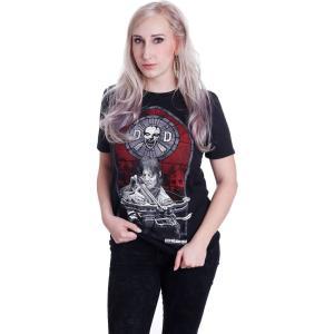 インペリコン Impericon レディース Tシャツ トップス - Stained Glass - T-Shirt black|fermart-hobby