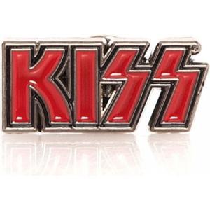 キッス Kiss グッズ - Logo - Pin red|fermart-hobby