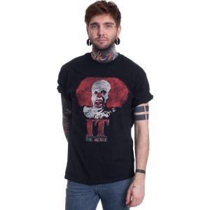 インペリコン Impericon メンズ Tシャツ トップス - Pennywise Clown Logo - T-Shirt black|fermart-hobby