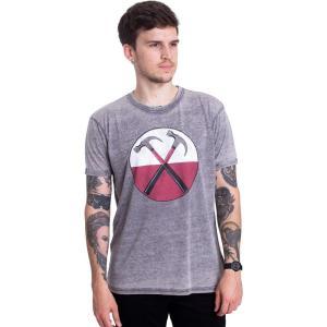 インペリコン Impericon メンズ Tシャツ トップス - The Wall Hammers Burnout Grey - T-Shirt grey|fermart-hobby
