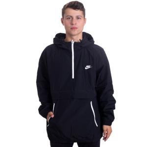 ナイキ Nike メンズ ジャケット アウター - NSW CE HD WVN Black/White - Jacket fermart-hobby