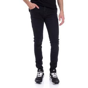 アイアン ネイル Ironnail メンズ ジーンズ・デニム ボトムス・パンツ Hulse Skinny Jeans black|fermart-hobby