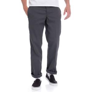 ディッキーズ Dickies メンズ スキニー・スリム ワークパンツ ボトムス・パンツ - Slim Straight Work 873 Charcoal - Pants grey fermart-hobby