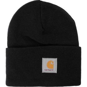 カーハート Carhartt WIP ユニセックス ニット ビーニー 帽子 - Acrylic Watch - Beanie black|fermart-hobby