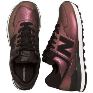 ニューバランス New Balance レディース スニーカー シューズ・靴 WL574 Black Girl Shoes multicolored|fermart-hobby