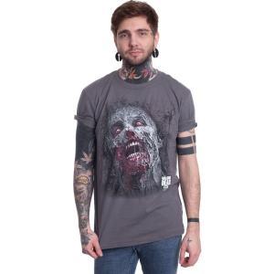 インペリコン Impericon メンズ Tシャツ トップス - Jumbo Walker Face - T-Shirt black|fermart-hobby