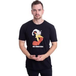 インペリコン Impericon メンズ Tシャツ トップス - Saitama Punch Man - T-Shirt black|fermart-hobby