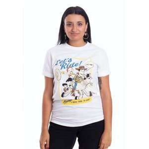 インペリコン Impericon レディース Tシャツ トップス - Let's Ride White - T-Shirt white|fermart-hobby
