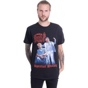 インペリコン Impericon メンズ Tシャツ トップス - Spiritual Healing - T-Shirt black|fermart-hobby
